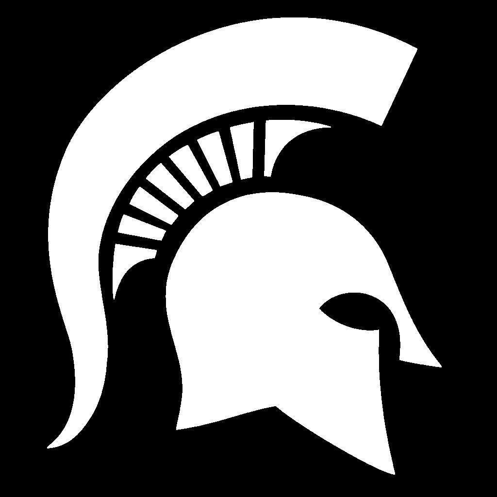 White Spartan Helmet
